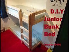 DIY Bunk Bed (under £40) - YouTube