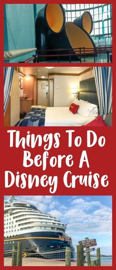If you're planning a Disney cruise, it can be a little overwhelming to think of everything you need to do before you leave. Preparing in advance will make for an even better experience, so check out this list of things to do before a Disney cruise. We als