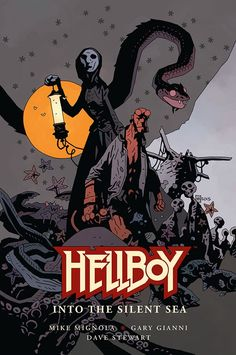 Not out till 2017 but too cool not to announce now! Dark Horse Comics will publish an original graphic novel, Hellboy: Into the Silent Sea, co-written by legendary Hellboy creator Mike Mignola,. Mike Mignola Art, Dc Comics, Horror Comics, Hellboy Comics, Image Comics, Gustave Dore, Marvel Universe, Comic Book Artists, Comic Books