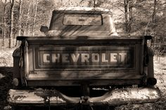 Vintage Chevy trucks. I can't get enough.
