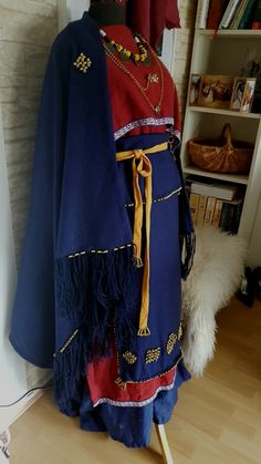finnish iron age Viking Garb, Viking Dress, Viking Images, Norse Clothing, Iron Age, Anglo Saxon, Celtic, Scandinavian, Folklore