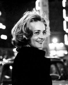 Jeanne Moreau in 'Elevator to the Gallows' (1958).