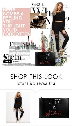 """""""shein"""" by perfex ❤ liked on Polyvore featuring Gucci"""
