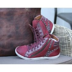 Dixie sko rød Windows Server, High Tops, High Top Sneakers, Shoes, Fashion, Moda, Zapatos, Shoes Outlet, Fasion
