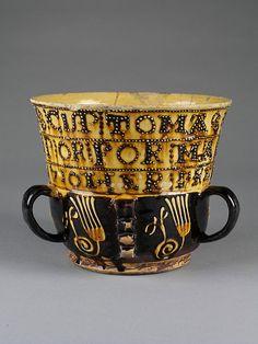 posset pot ..english dated 1710.