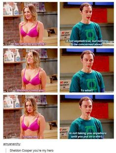 Penny Take Off Your Bra