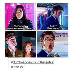 Doctor Who Tumblr, Doctor Who Funny, Sherlock Doctor Who, David Tennant Doctor Who, Funny Fails, Funny Memes, Hilarious, Logic Memes, 5sos Memes