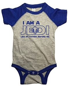 Nerdy Baby Clothes, One Piece, Amazon, Infant, Father, Star Wars, Inspired, Fashion, Pai