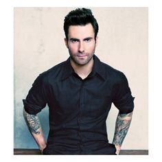 Adam Levine ❤ liked on Polyvore featuring adam levine, boys, adam, faces and people