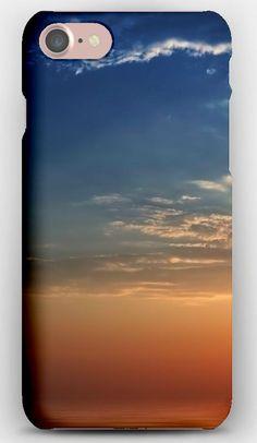 iPhone 7 Case Sun, Beams, Light, Clouds, Plumose, Patterns, Tranquillity