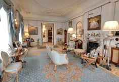 Inside Clarence House, Prince Charles' Home - Scene Therapy Royal Room, Home History, British History, London Townhouse, English Country Decor, Clarence House, Royal Residence, English House, Grand Homes