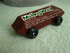 pinewood derby car designs candy | ... candy bar design didn't win us anything in the design department