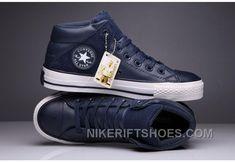 e96409e4b7e Blue CONVERSE Padded Collar All Star High Leather Terminator Genisys Chuck  Taylor Christmas Deals SnPS4 Blue. Nike Rift Shoes