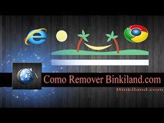 Como Remover Binkiland.com (Binkiland Search) ~ canalforadoaroficial
