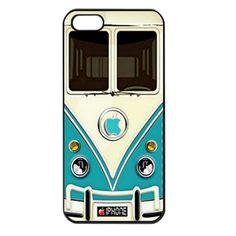 Retro Blue Volkswagen iPhone 5 Case Cover   bestiphone5caseshop - Accessories on ArtFire