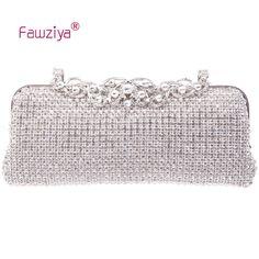 47.36$  Watch now - http://alihnc.shopchina.info/go.php?t=1940806940 - Fawziya Diamond Bag High class ladies wedding party handbag  #shopstyle