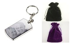 ENGRAVED BOTH SIDES SILVER RECTANGLE KEYRING PHOTO & TEXT PERSONALISED GIFT in Keyrings   eBay