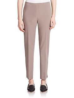 Peserico Stretch Cotton Ankle Pants