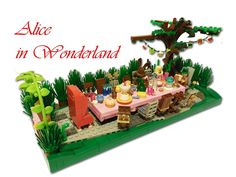 LEGO Ideas - Alice in Wonderland: a mad Tea Party