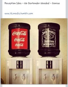 Jack & Coke self serve bar