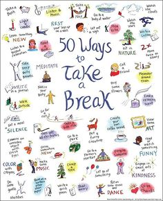 Everyone should know at least 50 ways to relax...