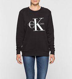 CALVIN KLEIN JEANS Logo Sweatshirt J2IJ202091965