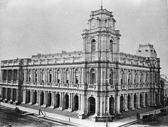 General Post Office, Melbourne, Victoria, circa 1880 - The Melbourne municipality (Town of Melbourne), was created by Act 6 Victoria No. 7 of the Legislative Council of New South Wales on 12 August 1842. Four wards were created for the election of councillors, the boundaries intersecting at Bourke and Elizabeth Streets.  Melbourne's municipal territory initially extended to the limits of settlement. In 1855 East Collingwood, Prahran, Richmond, St. Kilda, South Melbourne, Fitzroy, North…