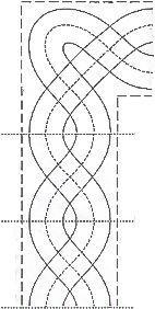 Grid & Curliques Frame | QUILT DESIGNS PATTERNS 1 | Pinterest ... : border quilt patterns - Adamdwight.com