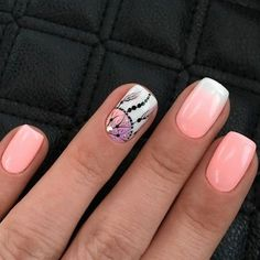 Nail art Christmas - the festive spirit on the nails. Over 70 creative ideas and tutorials - My Nails Gorgeous Nails, Love Nails, Red Nails, Pretty Nails, Hair And Nails, Cute Nail Colors, Gel Nagel Design, Nagel Gel, Nail Decorations
