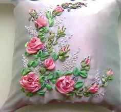 Rosas en almohadon