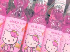 Imagem de hello kitty, pink, and drink Photo Wall Collage, Picture Wall, Cute Pink, Pretty In Pink, Indie Kids, Hello Kitty Items, Japanese Aesthetic, My Melody, Pink Walls