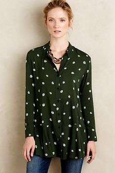 I want this! Lakin Tunic #anthropologie