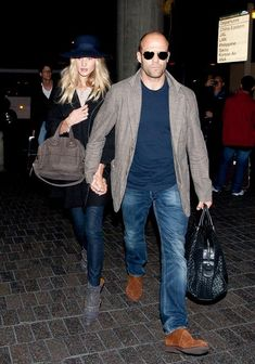Rosie Huntington-Whiteley Photo - Jason Statham and Rosie Huntington Whiteley Take Off