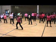 Gospel Step Line Dance 10 24 15
