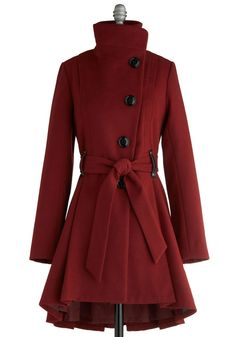 love this a-line coat