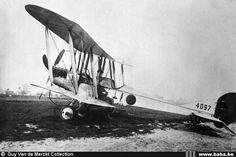 RAF BE2c 4097 with Edmond Thieffry