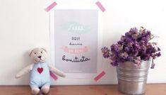 20 láminas imprimibles para tus paredes bonitas - Bonitismos