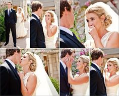 25 of the Most Amazing First Look Wedding Photos » The Bridal Detective