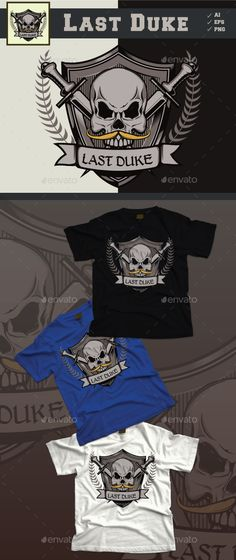 Last Duke Skull - Designs T-Shirts