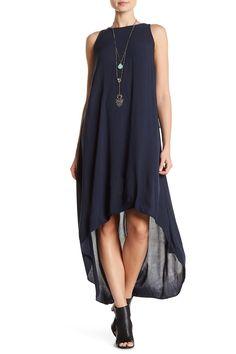 Sleeveless Solid Hi-Lo Dress by Mono B on @HauteLook