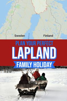 Visiting the magical snowy region of Lapland in Northern Finland makes for an unforgettable winter vacation. Visiting the home of Santa Claus is easier than you think with direct flights available throughout Europe. Whether you plan on taking a package holiday or planning your own DIY trip this post will help you plan your Levi, Finland holiday. #winter #winterholiday #Christmas #snow #familytravel #Lapland #Finland #Europe #Bucketlist #Travelinspiration #Wanderlust