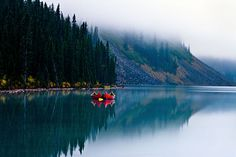 """Dawn"" - Lake Louise, Alberta Photo by Clickr Bee on flickr"