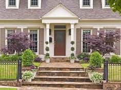 Image result for 1940s cape cod front entry