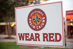 Wear Red Fridays!!