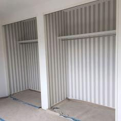 サンゲツ 壁紙/クローゼットの中/ストライプ/壁/天井のインテリア実例 - 2017-09-09 19:07:28 | RoomClip(ルームクリップ)