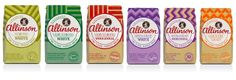 Allinson Flour Redesign on Packaging of the World - Creative Package Design Gallery