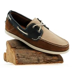 Timberland Mens Earthkeepers® Heritage Boat Shoe 2-Eye