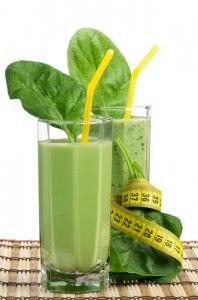 I am drinking green drinks every day for good health.