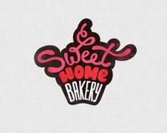 Sweet Home Bakery | #bakery logo design inspiration