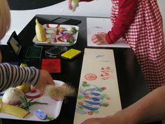 Diy Crafts For Kids, Art For Kids, Arts And Crafts, Reggio Children, Artistic Installation, Montessori, Art Education, Art School, Print Patterns